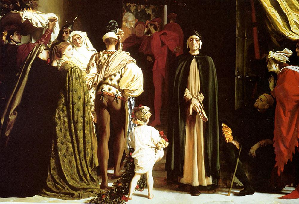 Dante in Exile 1864